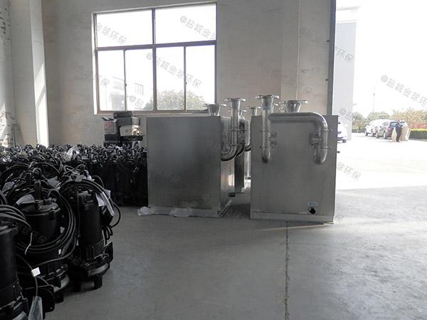 餐厅厨房密闭式斜板气浮式自动隔油器行业标准
