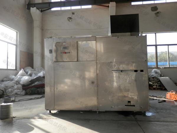 日处理5吨全自动餐厨垃圾处理机工艺