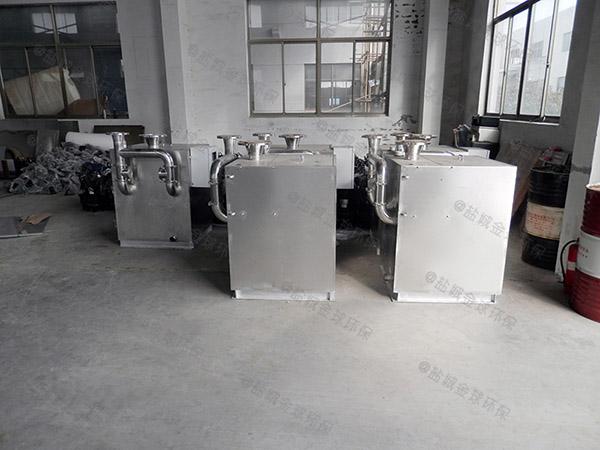 餐饮厨房水池地埋式压缩空气气浮式自动隔油器排放标准
