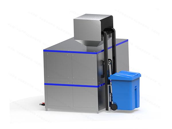 日处理10吨多功能厨余垃圾处理机工作原理图