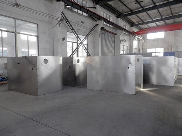 餐饮厨房2号隔渣水处理油水分离器排放标准