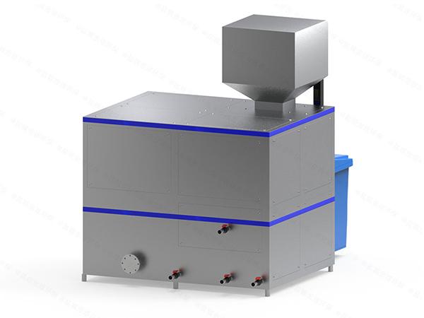 大型自动上料餐饮垃圾减量处理机器定制