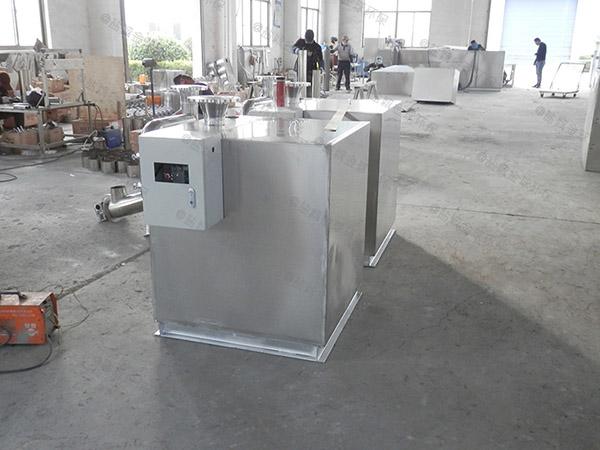 商场地下室商用污水隔油提升器怎样套定额