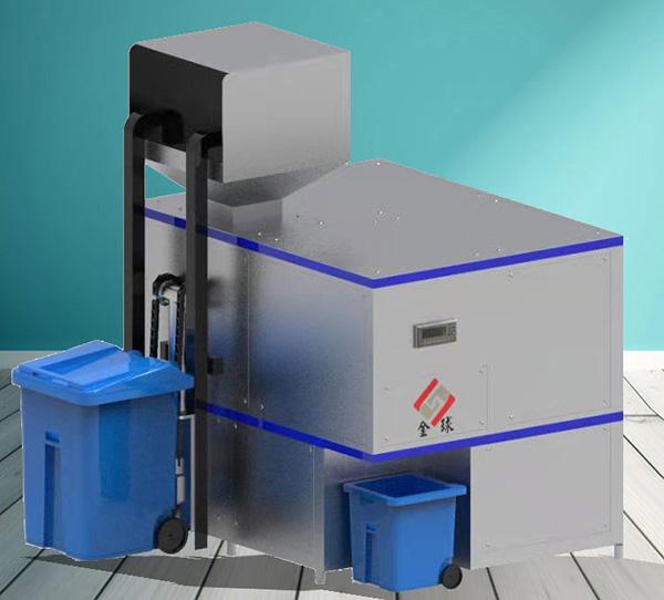大型自动化厨余垃圾压缩设备图片