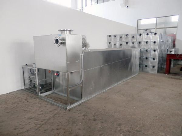 饭店排水沟2号不锈钢污水处理隔油池设计规范