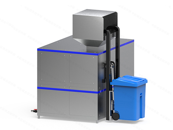 日处理5吨智能化厨余垃圾减量处理设备技术