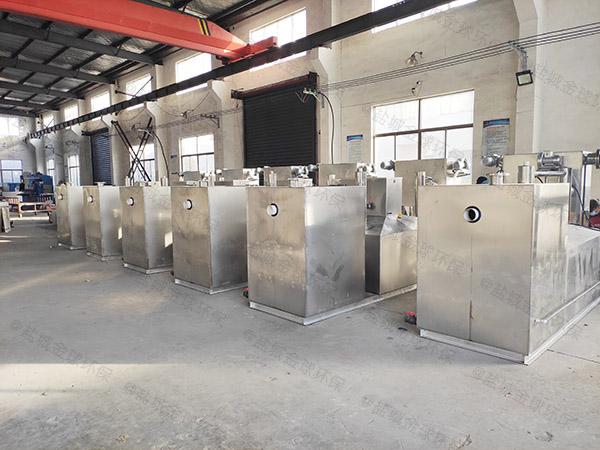 饭店厨房排水沟2号隔悬浮物提升隔油一体化设备检测报告
