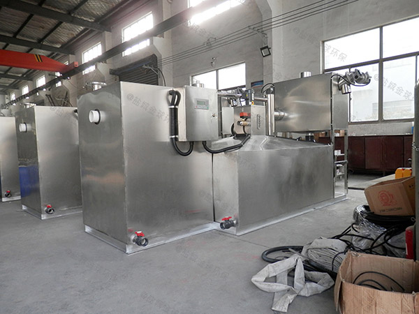 餐饮厨房水池小隔油隔渣隔悬浮物三级油水分离器施工方案