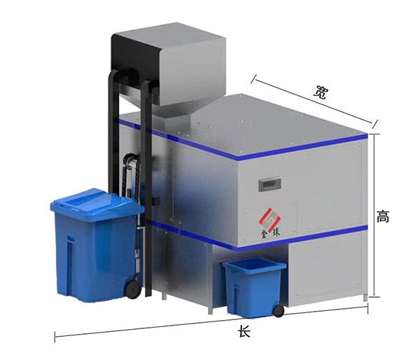 日处理5吨机械式厨余垃圾处理器检测报告