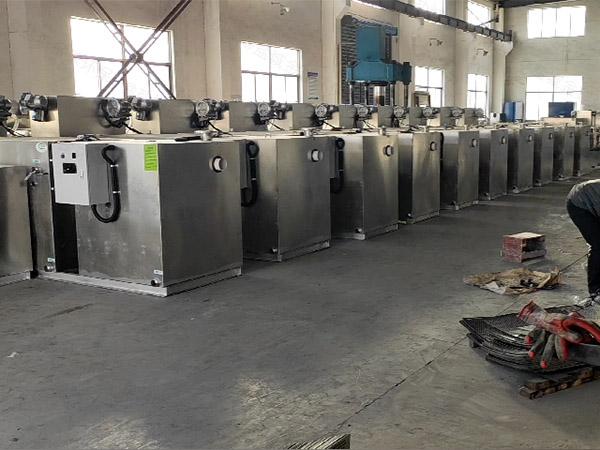加油站地埋式隔油提升隔油一体化设备生产商