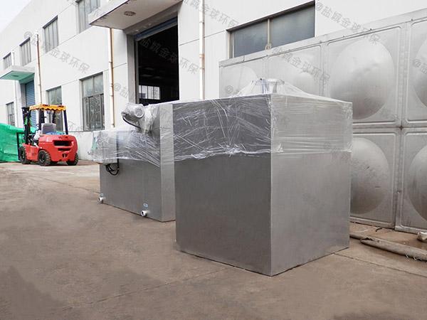 地下室外置泵反冲洗型污水提升器设备怎么预留排水管