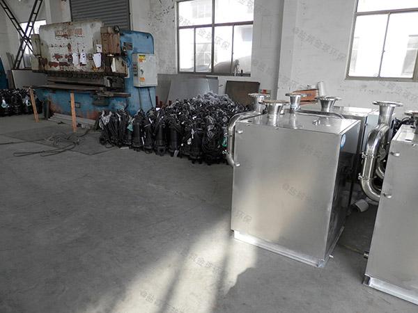 奶茶店平地式和深坑式污水提升器装置是什么东西