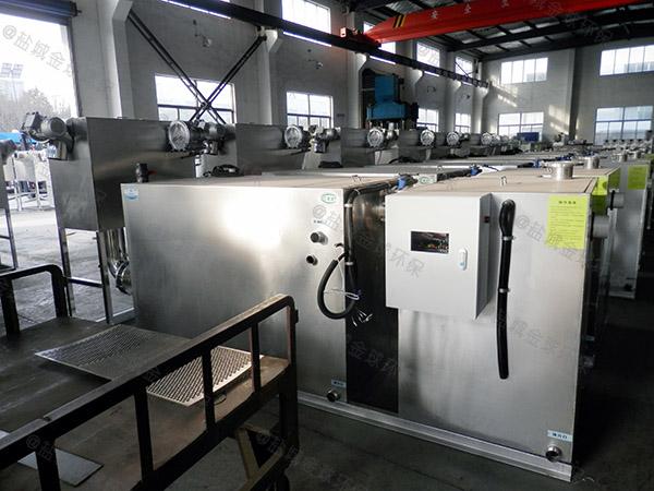 餐饮厨房水池小隔油隔渣隔悬浮物污水处理油水分离器介绍