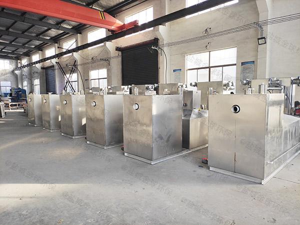 加油站密闭式隔油隔渣隔悬浮物气浮油水分离器环保要求