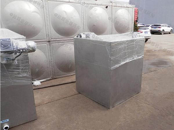 地下外置双泵污水隔油提升器多少钱
