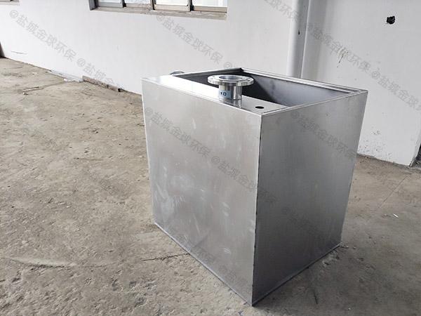 家用地下室双泵交替污水隔油提升器安装方法