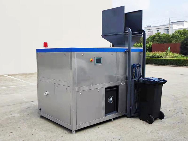 10吨饭店食物垃圾油水分离机器企业