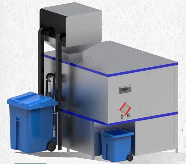 多功能商用厨房垃圾预处理机运行原理