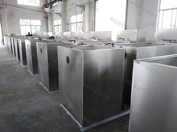 埋地式多功能餐厨垃圾垃圾油水分离处理设备设计图