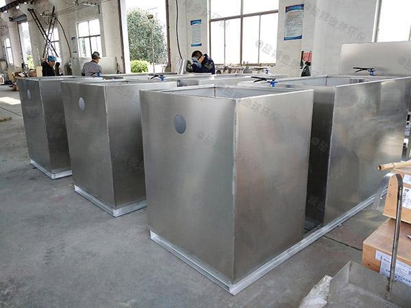 地下无动力餐厨油水分离设备规格型号及价格