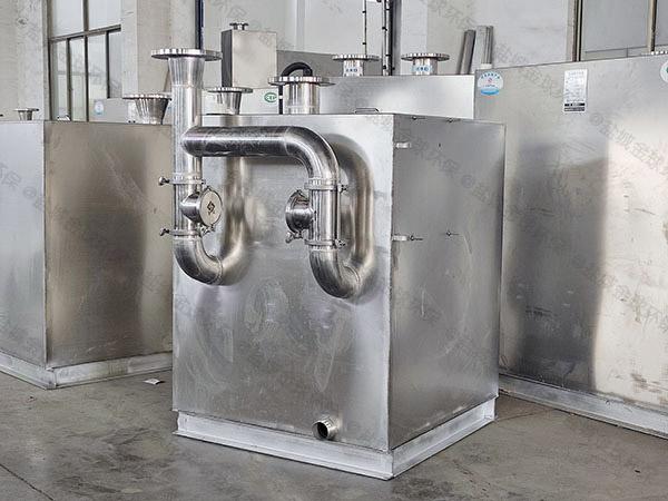 奶茶店双泵污水提升装置能管几年