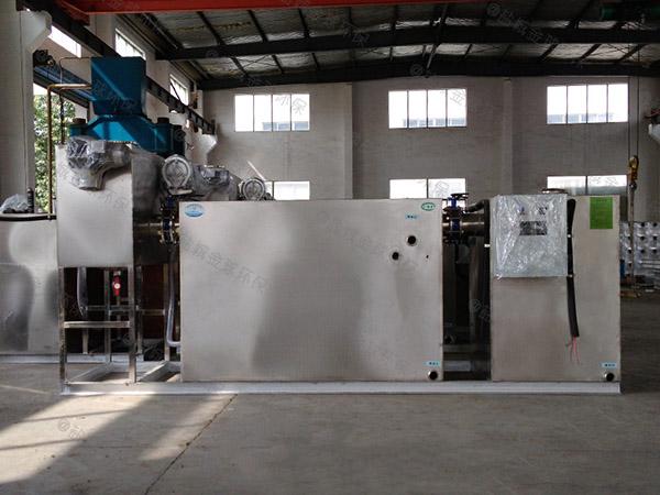 埋地式智能型厨房油水分离装置施工方案