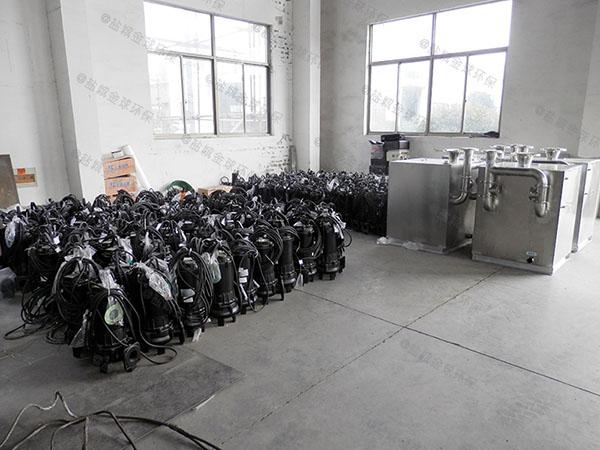 商品房地下室无堵塞污水提升机一般多久