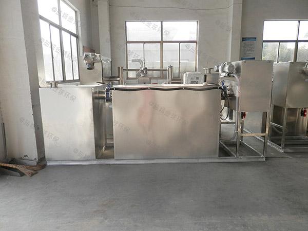 地上式自动厨房油水分离生产厂家