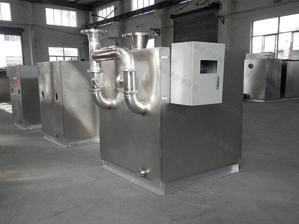 地埋商用污水隔油提升器卫生间要怎么安装
