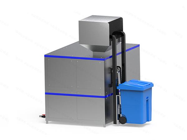 20吨商业综合体餐厨湿垃圾处理机工作原理