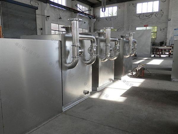 负一层地下室智能污水提升装置如何打开清洗