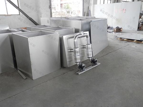 地上式加热餐厨油污水分离装置工作原理