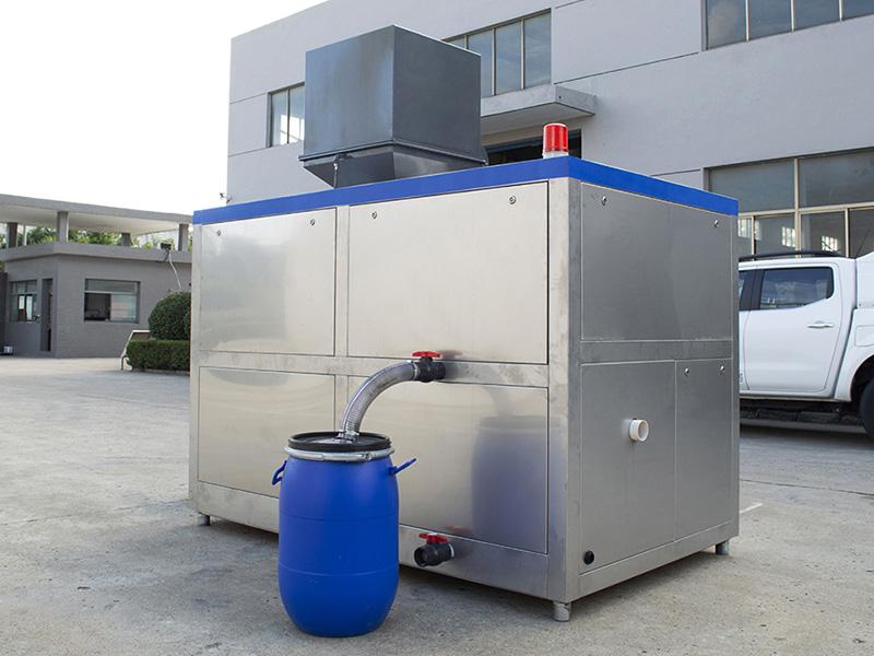 日处理10吨商业综合体餐厨垃圾处理一体器图片