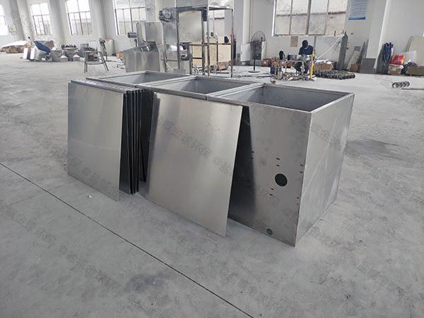 埋地加热型厨房垃圾油水分离设备施工方案