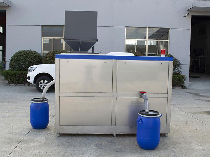 日处理5吨商业城厨房垃圾干湿分离器联系电话