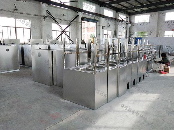 地上式组合式餐饮水油分离厂家