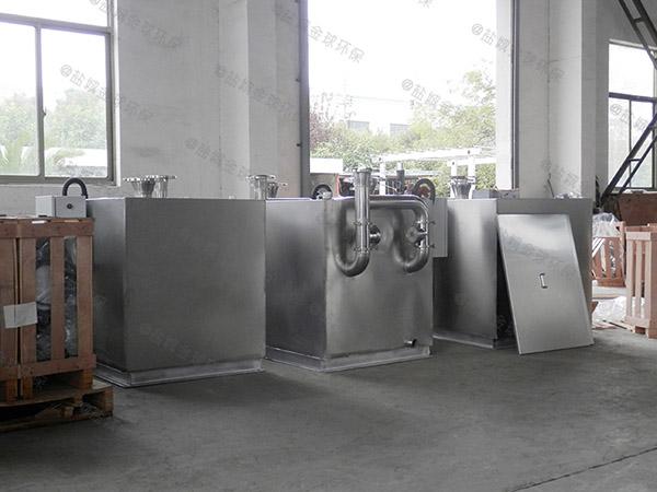 地下卫生间双泵污水提升器装置要通过一楼吗