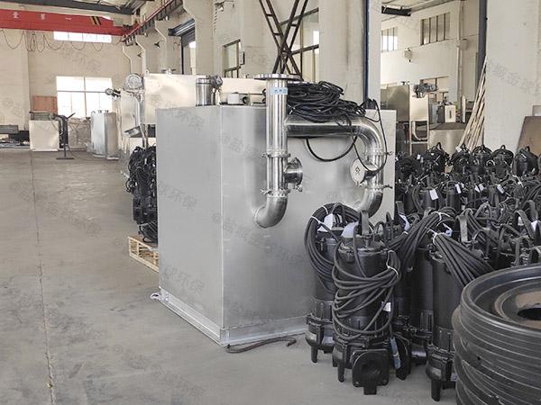地下卫生间商用污水隔油提升器可靠吗