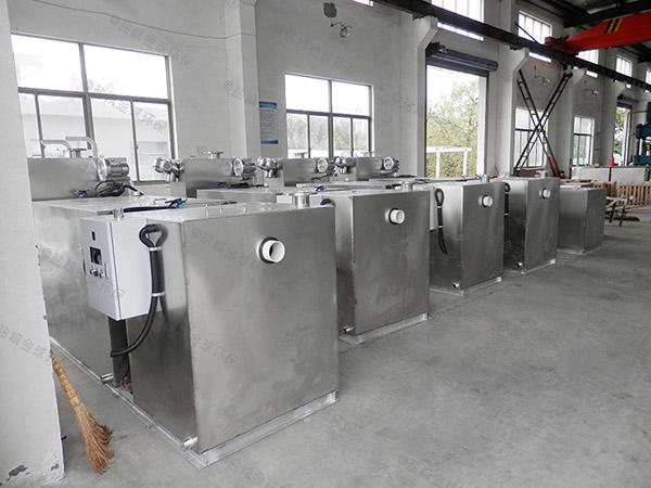 户外加热餐饮油水分离装置施工方案