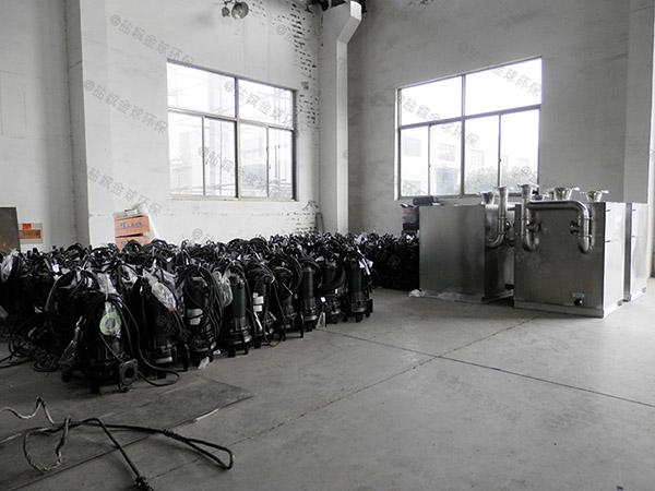 专业卫生间一体化污水隔油提升器可靠吗