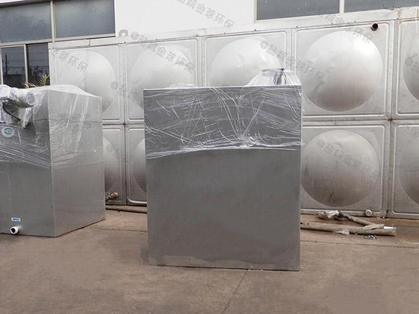 商场地下室双泵洗污水提升机安装工费