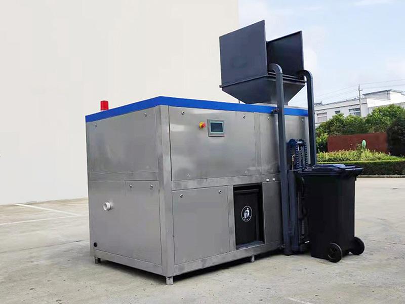 20吨饭店餐厨垃圾撕粹机器企业